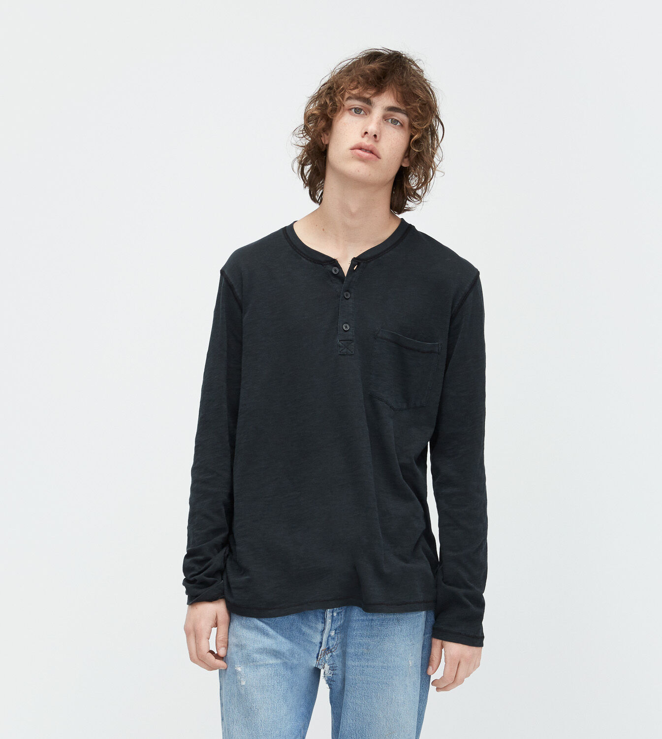 Cheap Factory Outlet UGG® Long Sleeve Henley T-Shirt Free Shipping 100% Authentic Discount Good Selling Clearance Real aF8Iu