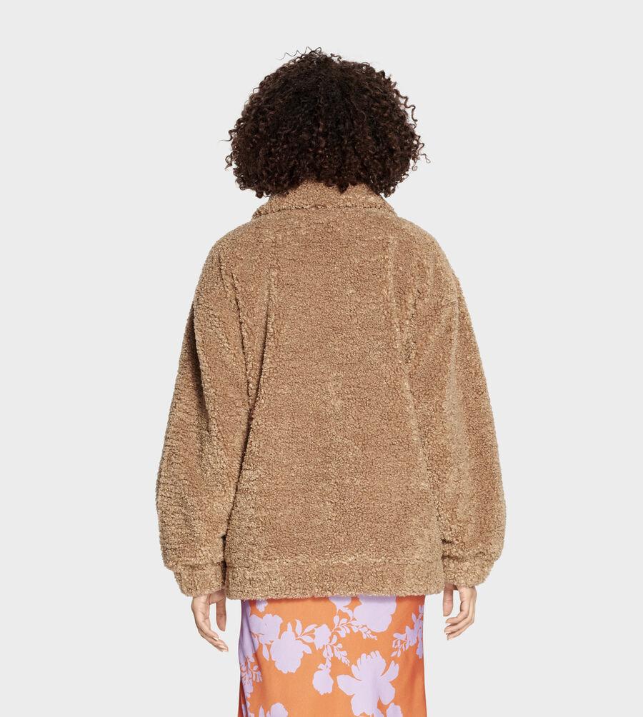 Kaley Teddy Bear Jacket - Image 2 of 6