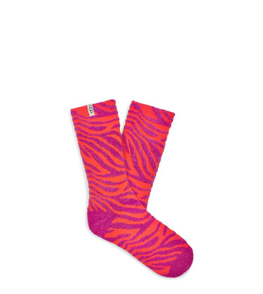 Leslie Graphic Crew Sock