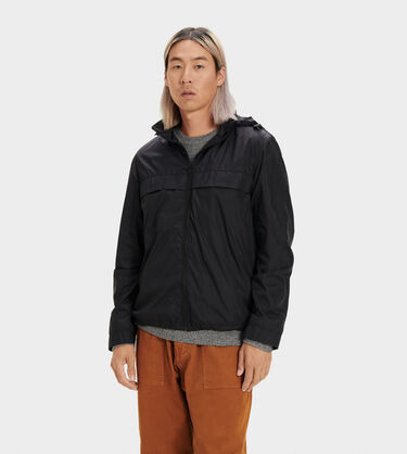 Shawn Packable Zip Up Jacket