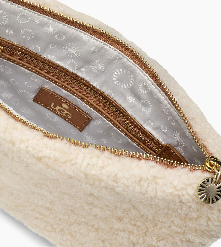 Large Sheepskin Zip Pouch - Image 4 of 5