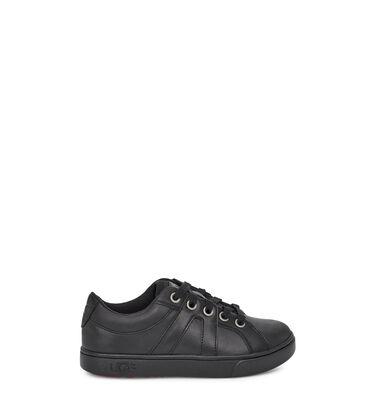 어그 리틀키즈 마커스 스니커즈 UGG Marcus Sneaker Leather,BLACK