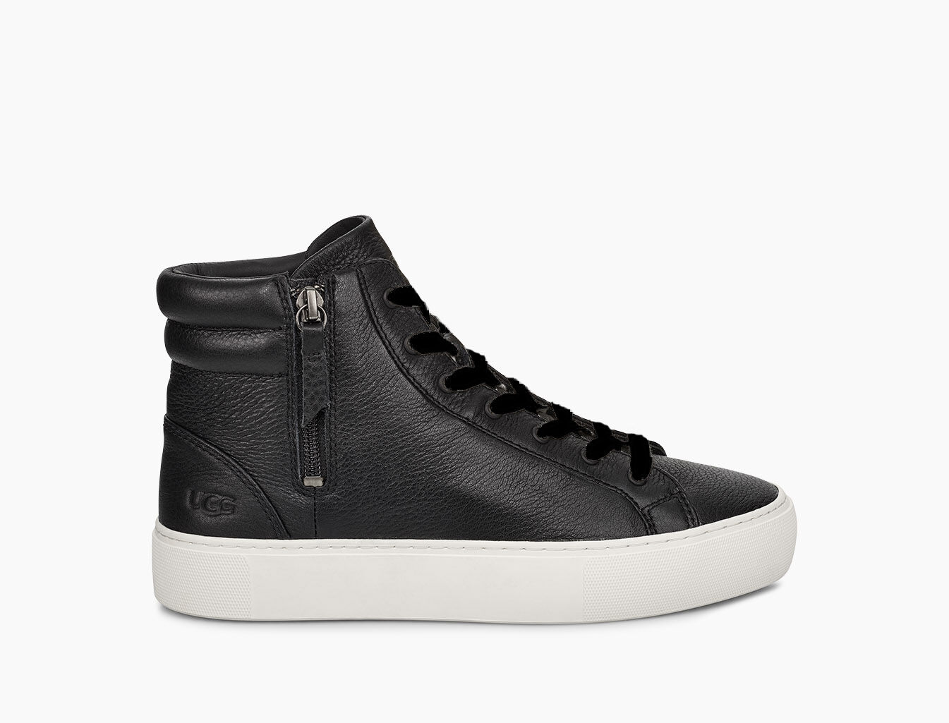 womens leather high top sneakers