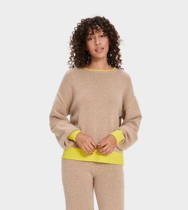Renata Cashmere Crewneck Alternative View