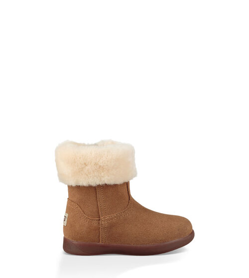 UGG Toddlers Jorie II Boot Sheepskin In Chestnut, Size 9