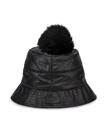 All Weather Bucket Hat W/ Pom