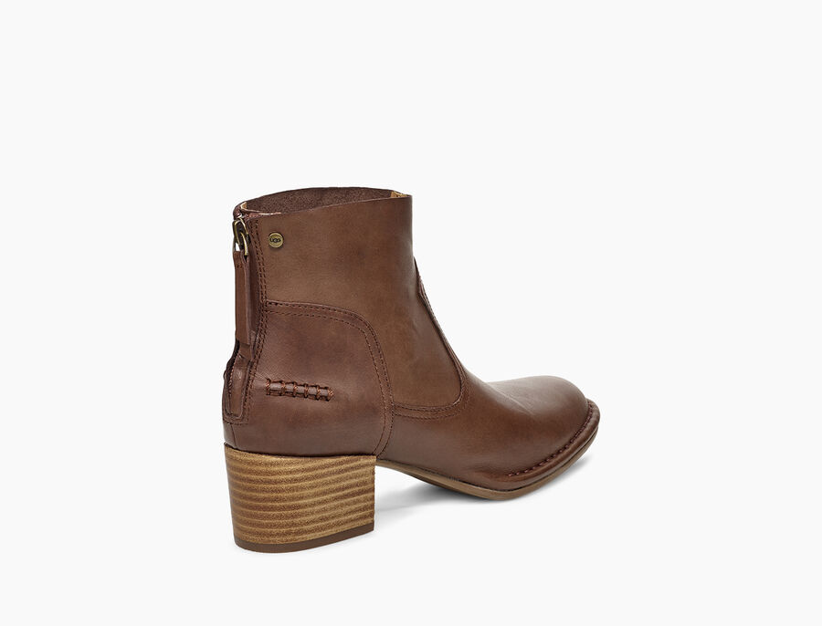 Bandara Ankle Boot Leather - Image 4 of 6
