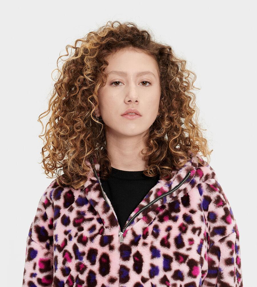 Mandy Faux Fur Hoodie - Image 4 of 6