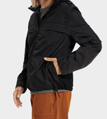 Shawn Packable Zip Up Jacket Alternative View