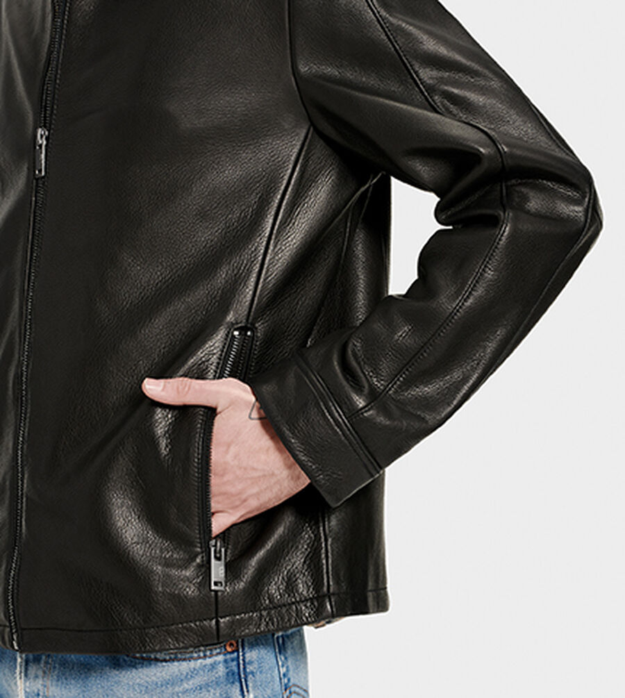 Orlando Leather Racer - Image 3 of 6