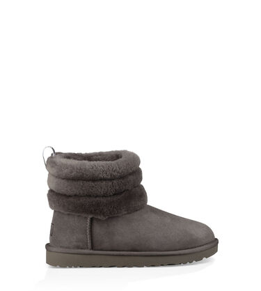 Classic Mini Fluff Quilted Boot