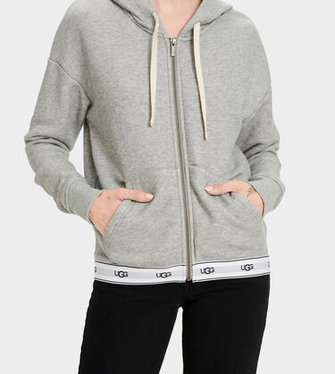 Sena Zipped Hoodie Alternative View