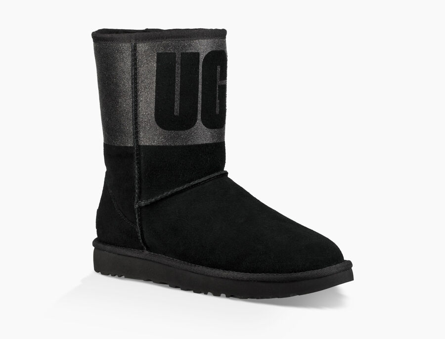 Classic Short UGG Sparkle Boot - Image 2 of 6