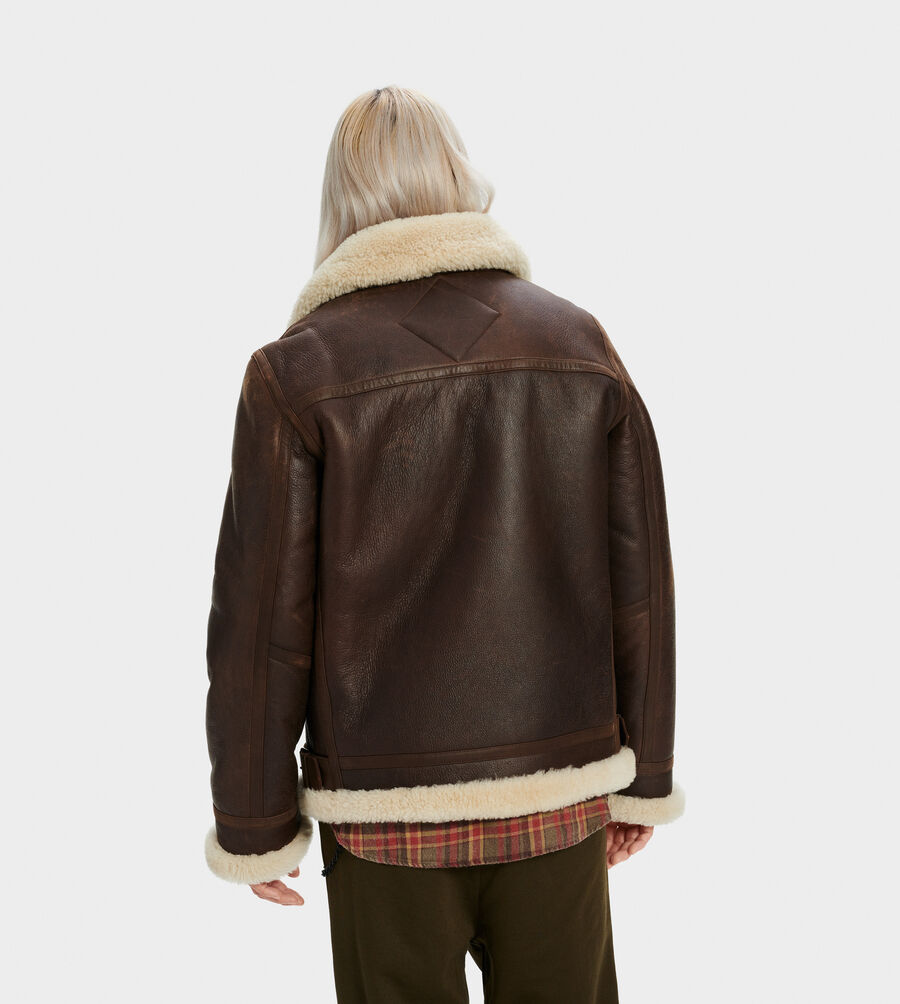 Auden Shearling Aviator Jacket - Image 2 of 4