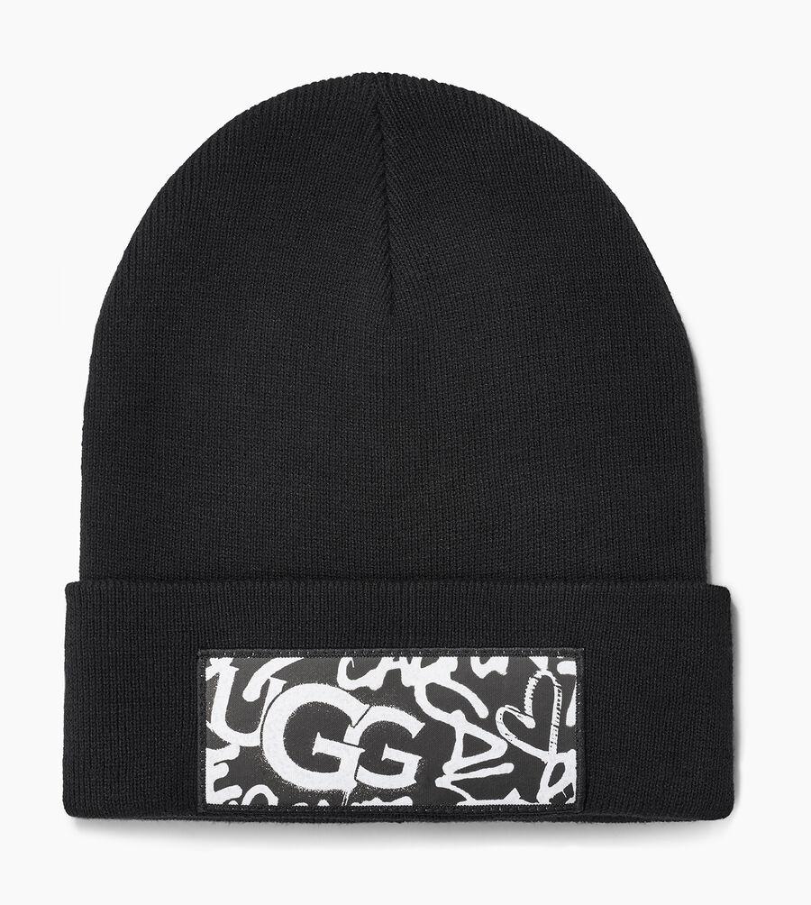 Graffiti Patch Cuff Hat - Image 1 of 2