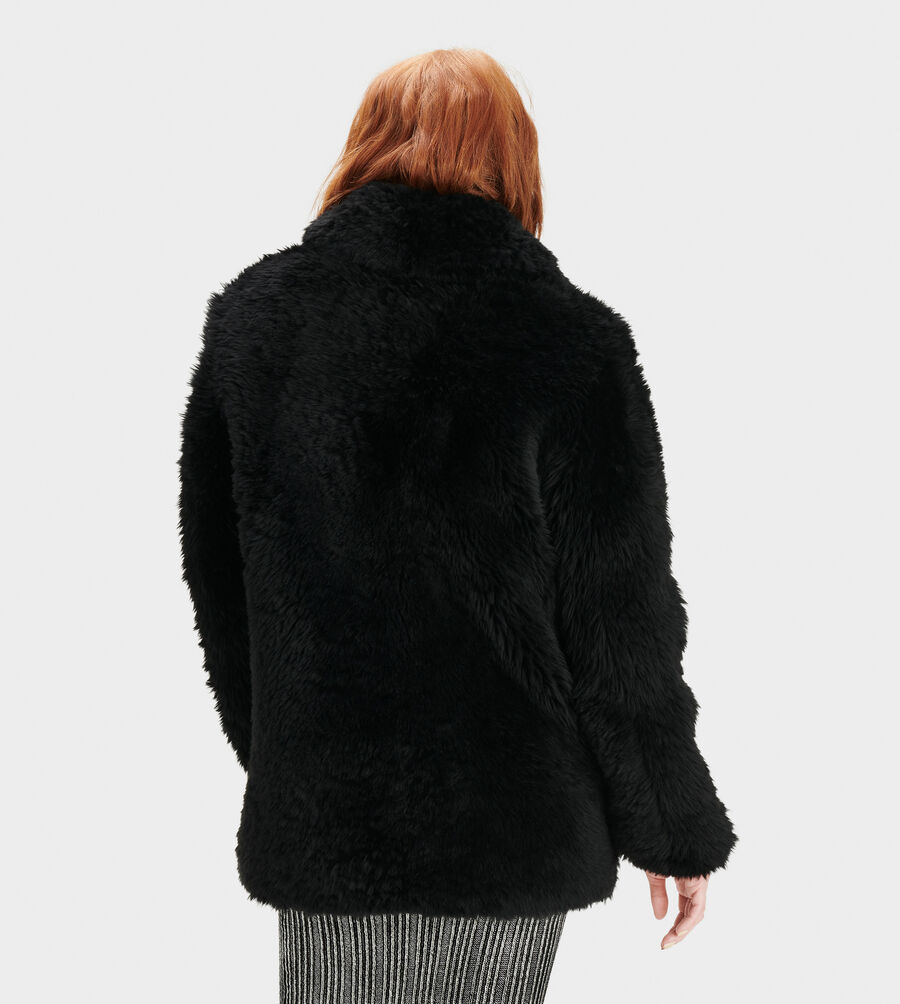Lianna Short Shearling Coat - Image 2 of 4