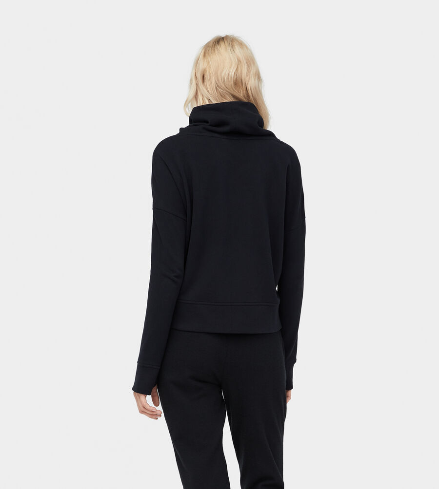 French Terry Miya Funnel Neck - Image 2 of 6