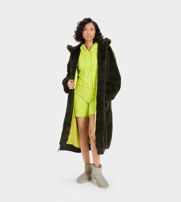 Koko Oversized Faux Fur Coat