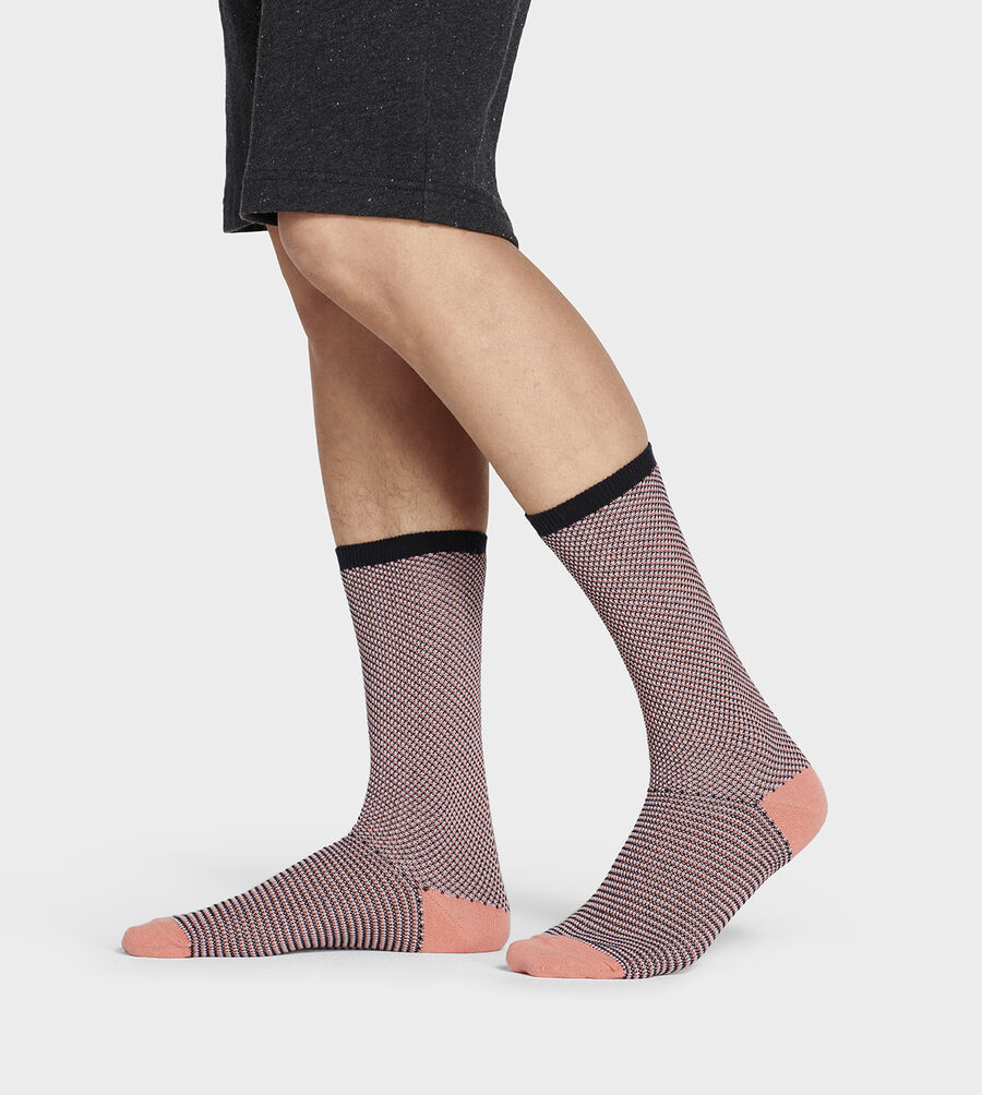 Cadin Pique Crew Sock - Image 1 of 4
