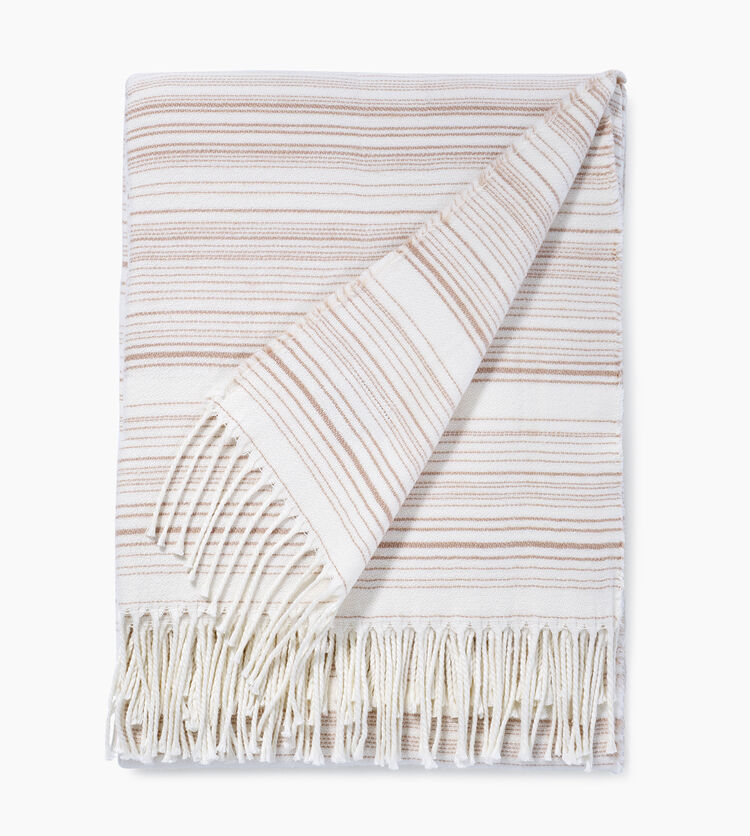 Driftwood Stripe Throw