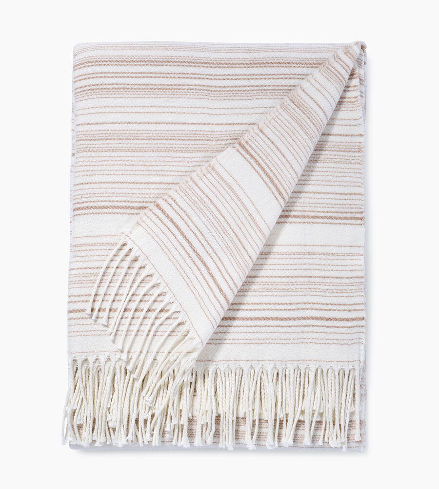 Driftwood Stripe Throw - Image 1 of 3