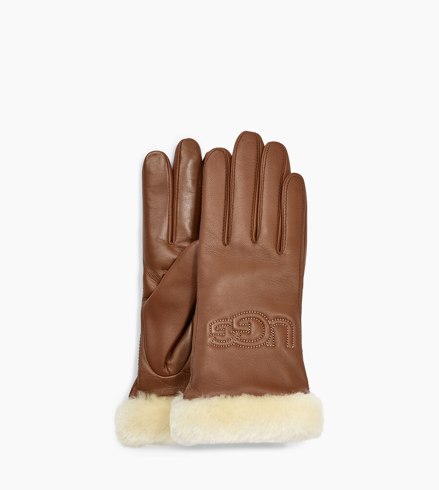Classic Leather Logo Glove - Image 1 of 2