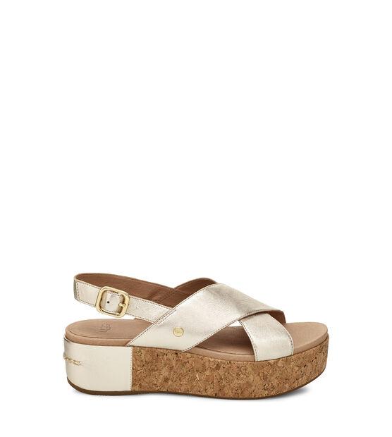 Shoshana Metallic Sandal