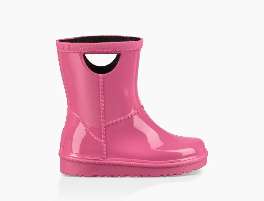 어그 키즈 부츠 UGG Rahjee Rain Boot,DIVA PINK