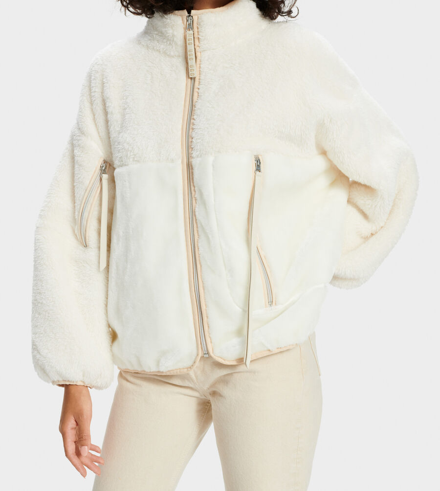 Marlene Sherpa Jacket - Image 3 of 4