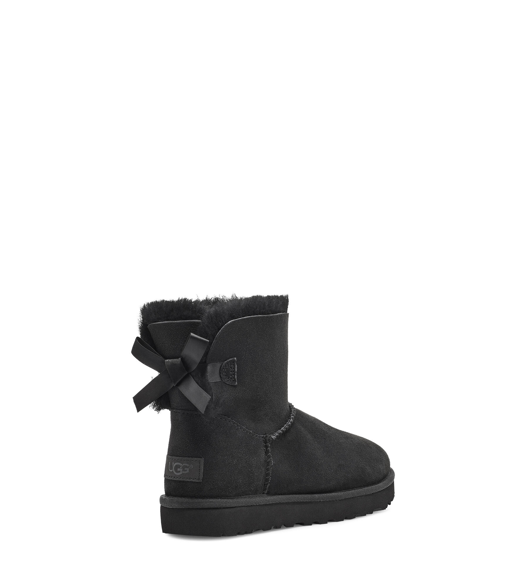 black and white bailey bow uggs