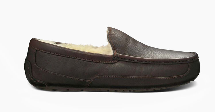 Ascot Leather Slipper