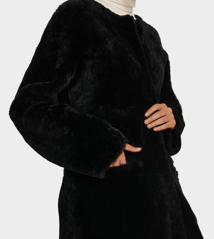 Remy Reversible Shearling Coat - Image 3 of 6