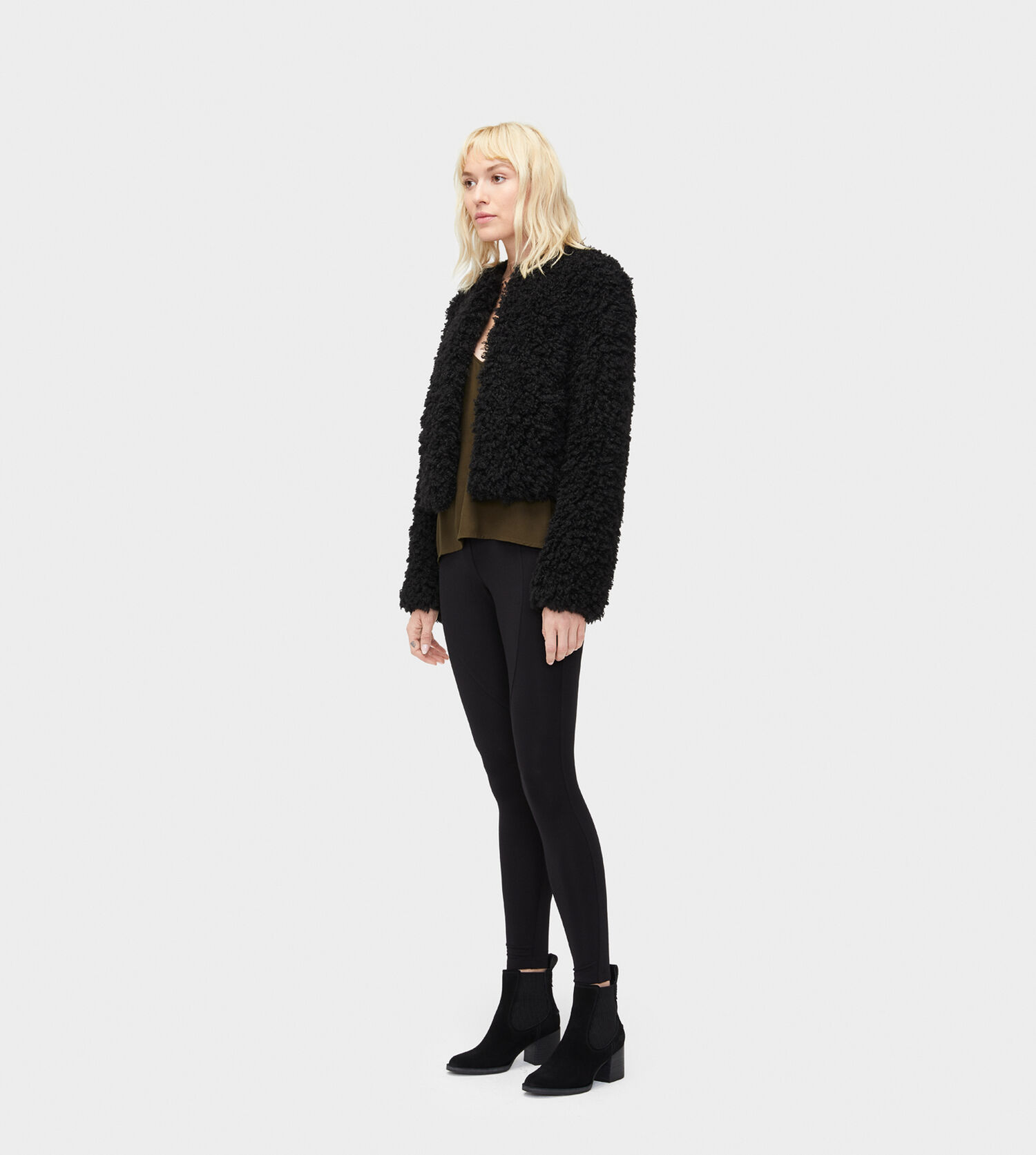 14677042cbc9 Zoom Lorrena Faux Fur Jacket - Image 4 of 5