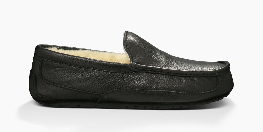 Ascot Leather Slipper - Image 1 of 6