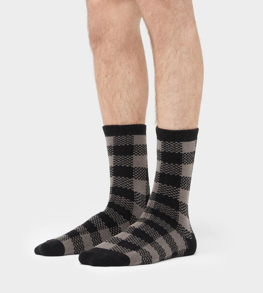 Randall Check Crew Sock - Image 3 of 3