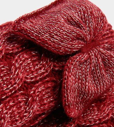 Laila Bow Fleece Lined Sock Alternative View