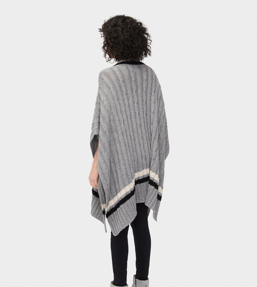 Weslynn Sweater Poncho - Image 2 of 5