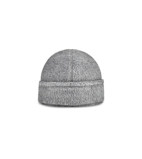 UGG Men's Sherpa Beanie Hat, Size S/M Made from genuine Polartec® sherpa, this stylish beanie is soft and ultra-warm. Accented with our timeless Tasman pattern, it pairs well with any of our other trend-right sherpa styles. UGG Men's Sherpa Beanie Hat, Size S/M