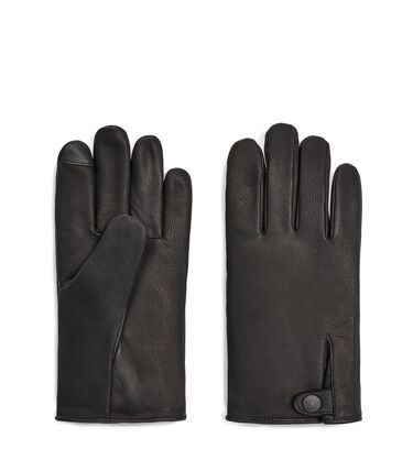 Tabbed Splice Vent Leather Glove Alternative View