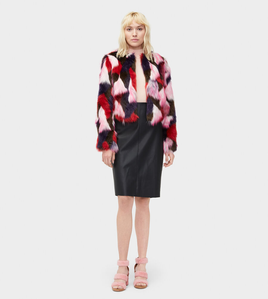 Lorrena Patchwork Faux Fur - Image 3 of 3