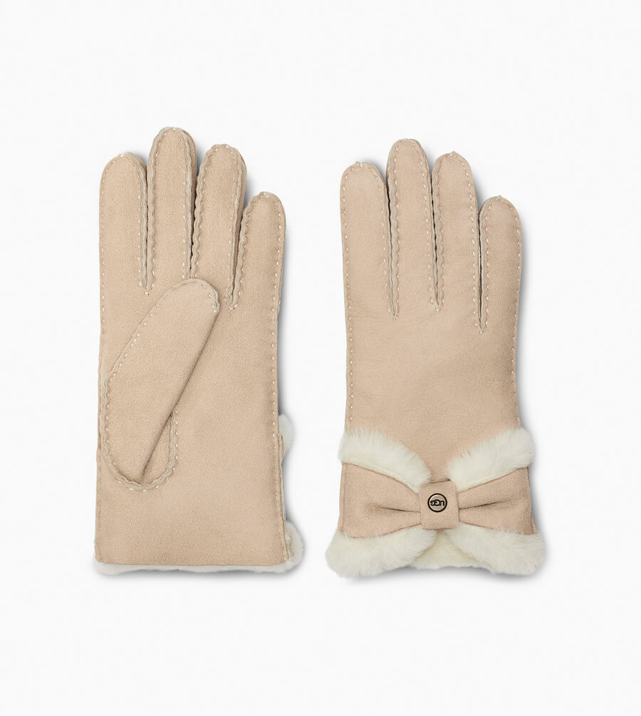 Sheepskin Turned Bow Glove - Image 2 of 2