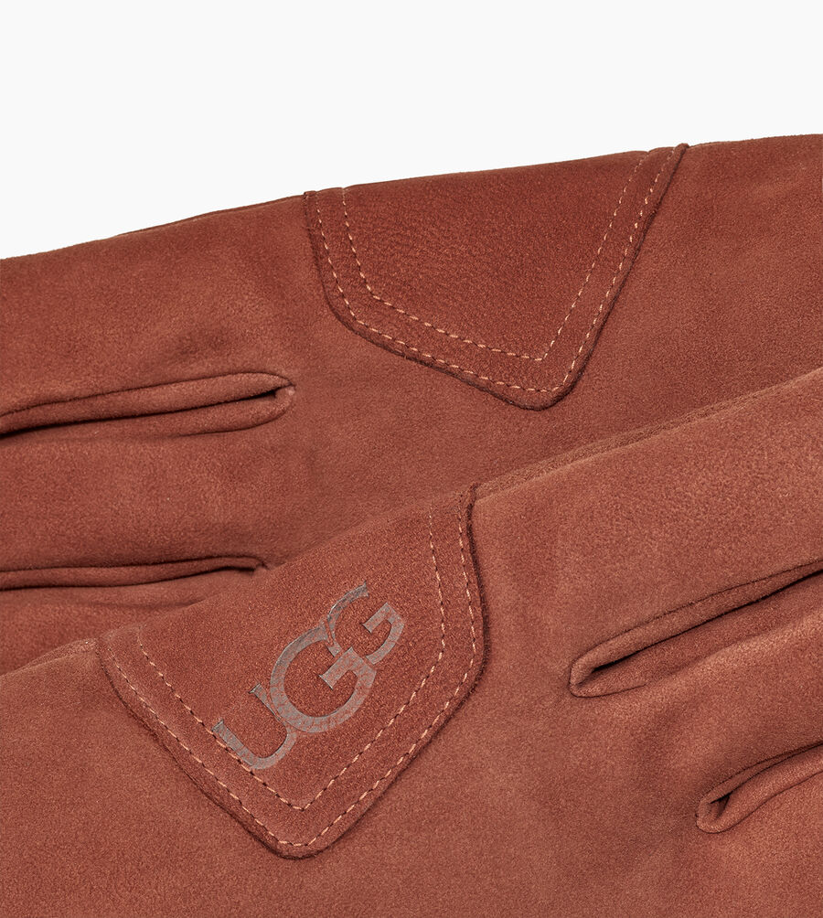 Suede Logo Patch Glove - Image 3 of 3