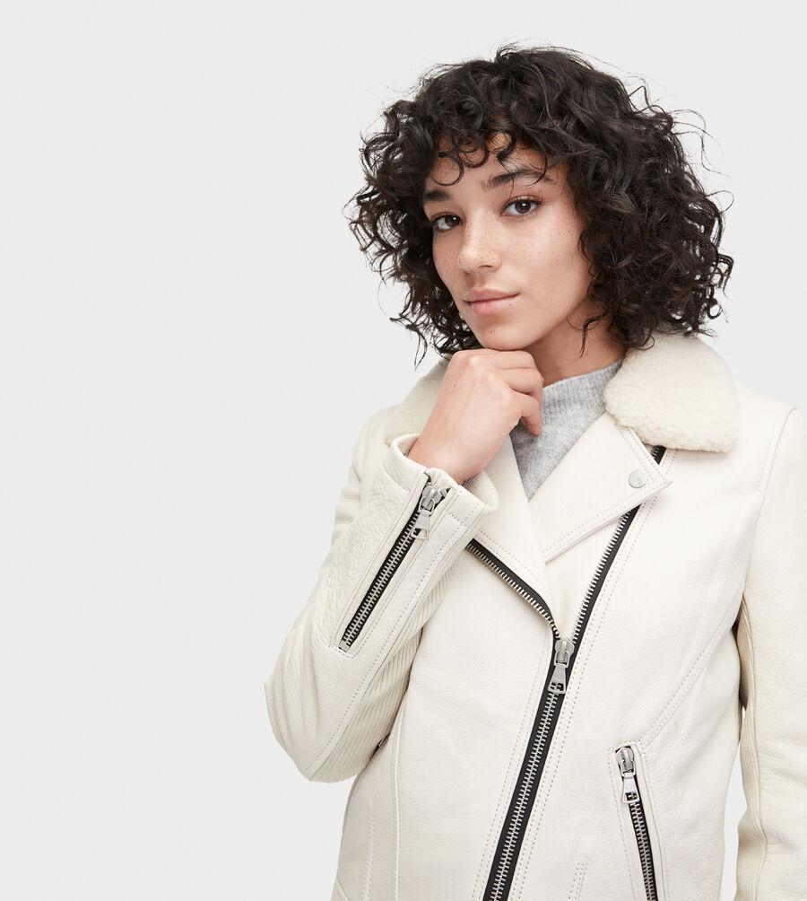 Andee Leather Cycle Jacket - Image 6 of 6