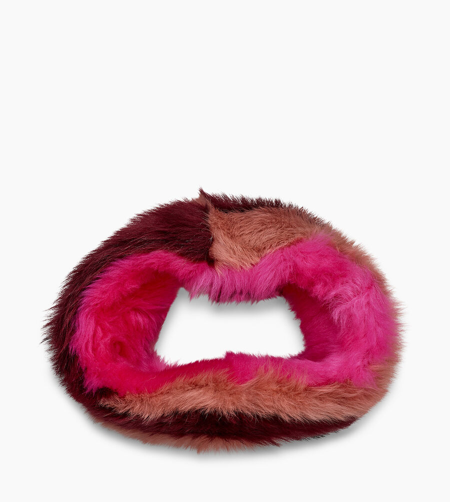 Multi Sheepskin Snood - Image 3 of 4