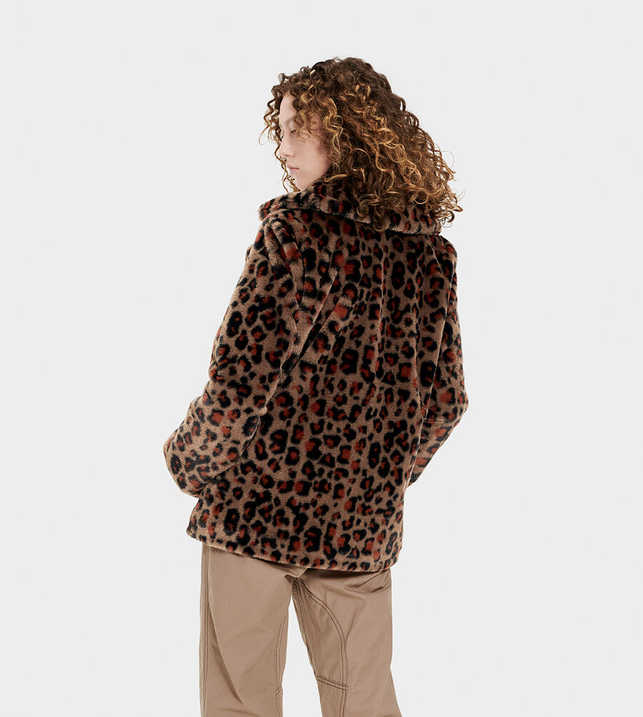 Rosemary Faux Fur Jacket - Image 2 of 6