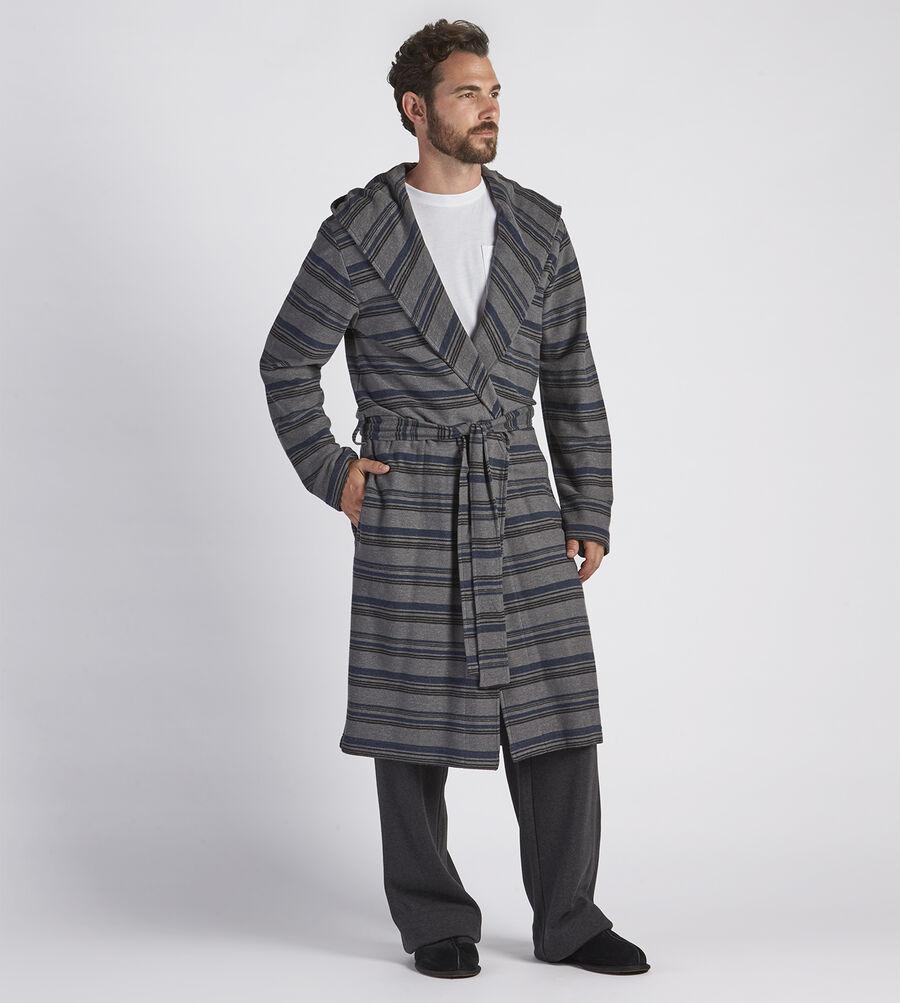 Miles Stripe Robe - Image 1 of 4