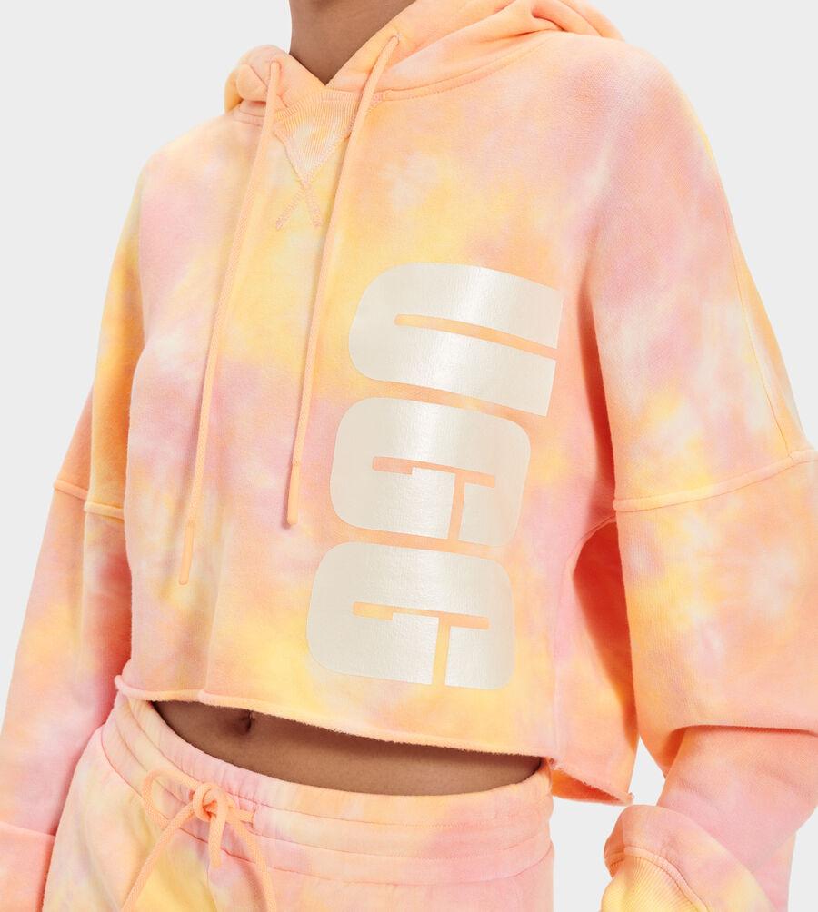 Keira Cropped Hoodie Tie Dye - Image 5 of 5