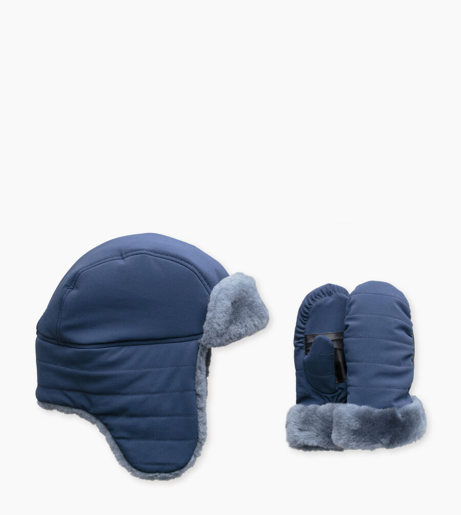 Nylon Hat / Mitten Gift Set - Image 1 of 3
