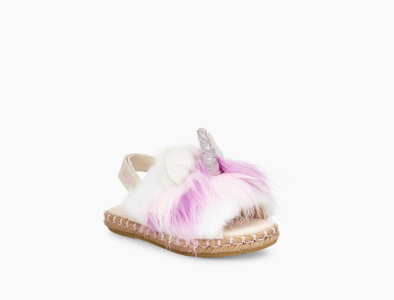 9bc8fe68e1ee Zoom Rainbow Unicorn Sandal - Image 1 of 6