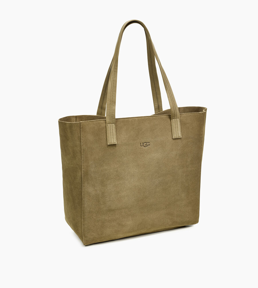 Alina Suede Tote - Image 2 of 6